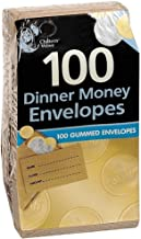 Pack of 100Dinner Money Envelopes