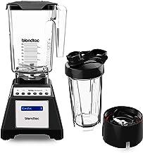 Blendtec Total Classic Original Blender - WildSide+ Jar (90 oz) and Blendtec GO Travel Bottle (34 oz) BUNDLE - Professiona...