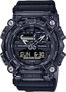 Casio GA-900SKE-8ADR G-Shock Special Colour Model Analog-Digital Men's Watch With Resin Band, Black