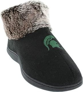 Comfy Feet Womens NCAA College Faux Sheepskin Fur Top Slipper Boots