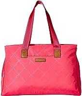 Vera Bradley Preppy Poly Triple Travel Bag