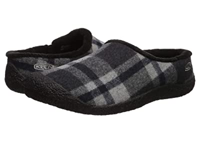 Keen Howser Slide (Black Plaid/Black) Women