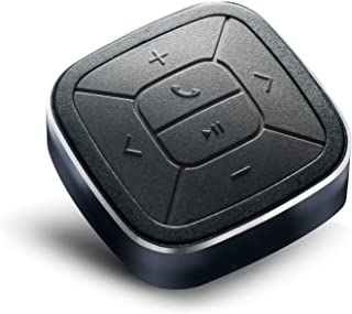TUNAI Bluetooth 5.0 メディアボタン ワイヤレス万能リモコン スプラッシュプルーフ IPX5 ボタンシリーズ スマートフォン iPhoneアプリ 車載 自転車 音楽の再生/停止 自撮りシャッター機能付き Siri カメラ ビデ...