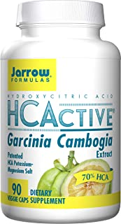 Jarrow Formulas HCActive Garcinia Cambogia, Supports Appetite Control and Weight Management, 90 Veggie Caps