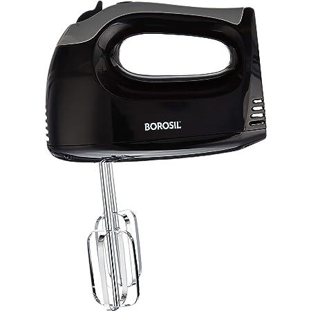 Borosil Smartmix BHM30PBB11 300-Watt Hand Mixer (Silver)