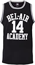 MOLPE Smith #14 Bel Air Academy Black Basketball Jersey S-XXXL, 90S Clothing for Men, Stitched Letters and Numbers