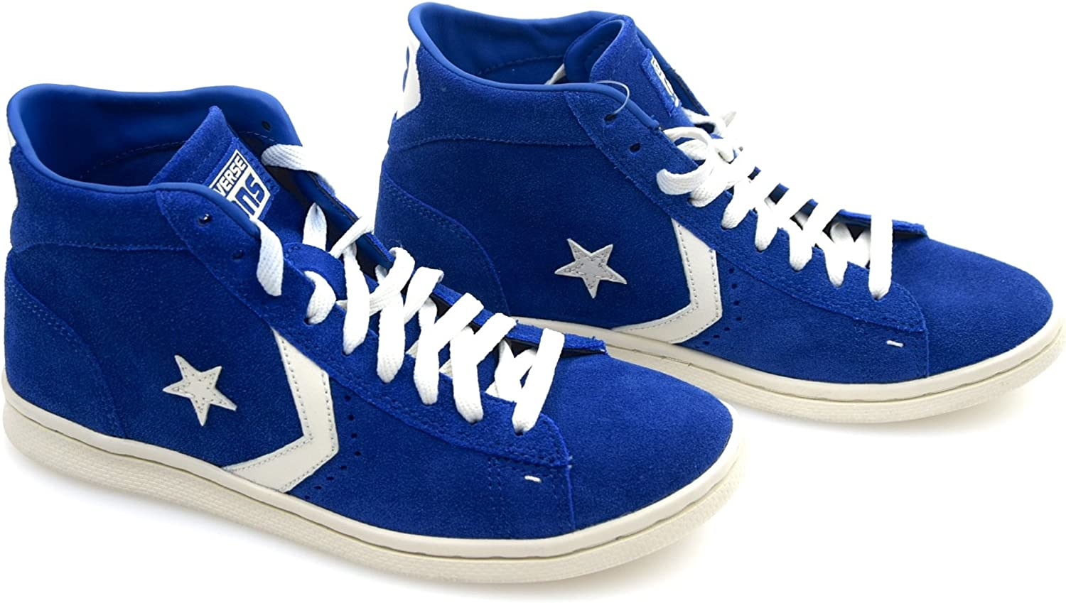 Converse Man Woman Unisex Sneaker shoes bluee Royal Suede Code 131106C