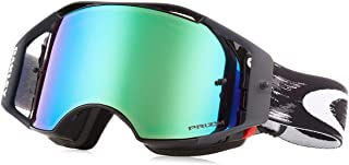 70976fd63d Oakley Airbrake MX Dirt Bike Goggles Jet Black Prizm MX Jade