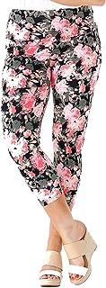 Intro Tummy Control High Waist Pull-On Capri Length Cotton\Spandex Legging