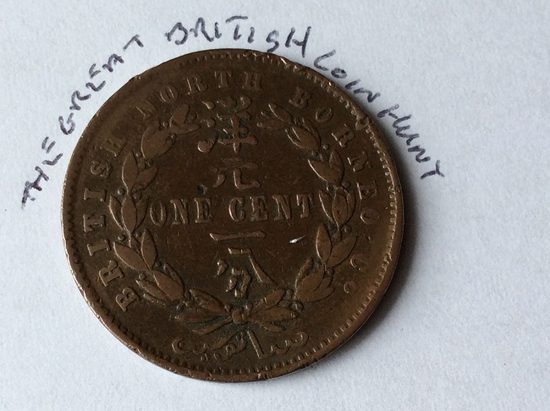 TGBCH Malaya & British Borneo 1 One CentCoins (1889)