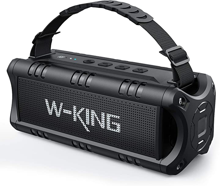 Cassa bluetooth, w-king 30w altoparlante speaker bluetooth portatile 24 ore di riproduzione D8 mini