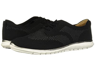 Hush Puppies Tricia Wing Tip Knit (Black Knit) Women