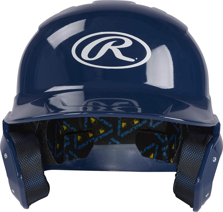 Rawlings Mach Clear Coat Ranking TOP19 Senior Baseball Helmet Batting Outlet ☆ Free Shipping Navy