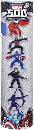 500mini figurine de 5pièces (Falcon, Ant on, Marvel Captain America hiver, soldat et oeil de faucon)