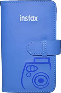 Fujifilm 70100136659 - Álbum para 108 fotos Instax Mini color azul cobalto