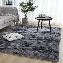 Extra Soft Luxury Fur Indoor Area Rug Fluffy Carpet Living Room Shaggy Nursery Rug Bedroom Dining Room Floor Mat Kids,4 by...
