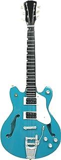 Guitarra en miniatura decorativa de guitarra Gibson, 24 cm, color azul #193