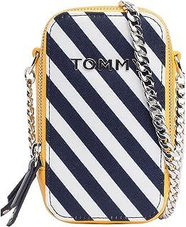TOMMY HILFIGER Women's TH Idol Crossover Bag, Nautical Stripe, Standard M