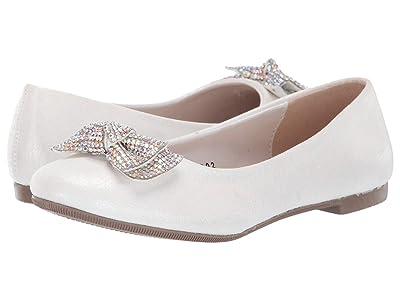 Kid Express Nessa (Toddler/Little Kid/Big Kid) (White Combo) Girls Shoes