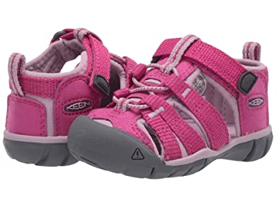 Keen Kids Seacamp II CNX (Toddler) (Very Berry/Dawn Pink) Girls Shoes