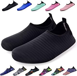 Bridawn Water Shoes for Women and Men, Quick-Dry Socks Barefoot Shoes for Swim Yoga Beach Surf Aqua Sports