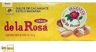 Dulce De Cacahuate Estilo Mazapan De La Rosa 60 Pcs 12.5g Each