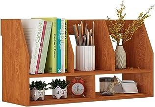 File Sorters Storage Office Supplies USB hub Modern Wood Bookcase Portable Book Rack on Desk Bookshelf in Office Book Shel...