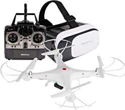 Vivitar DRC-125 Wi-Fi Camera Quadcopter Drone with VR Headset