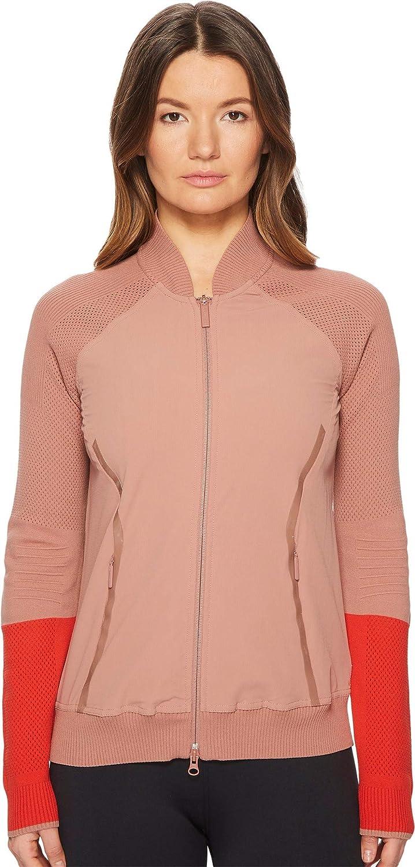 Adidas by Stella McCartney Womens Run Ultra Knit Woven Jacket CW1181