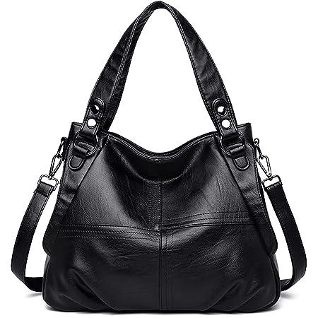 Damen Handtasche Große Leder Damenhandtasche Umhängetaschen Designer Schultertasche Hobo Tasche