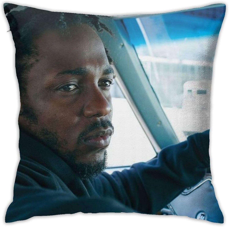 Ggoopt Kendrick Lamar Mans Polyester Pillowcase Cushion Cover Home Sofa Decoration 18 X 18 Inches 45 X 45 Cm Home Kitchen
