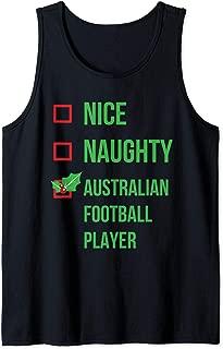 Australian Football Player Funny Pajama Christmas Gift Tank Top