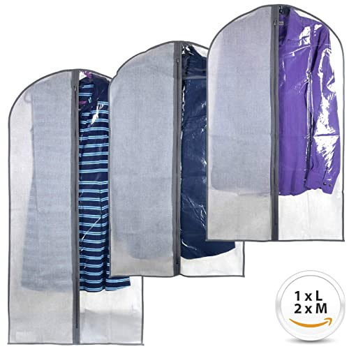 ac29576cda7b Perfect Garment Bags for Suits - Dress Suit Bag Set for Easy Storage or  Travel