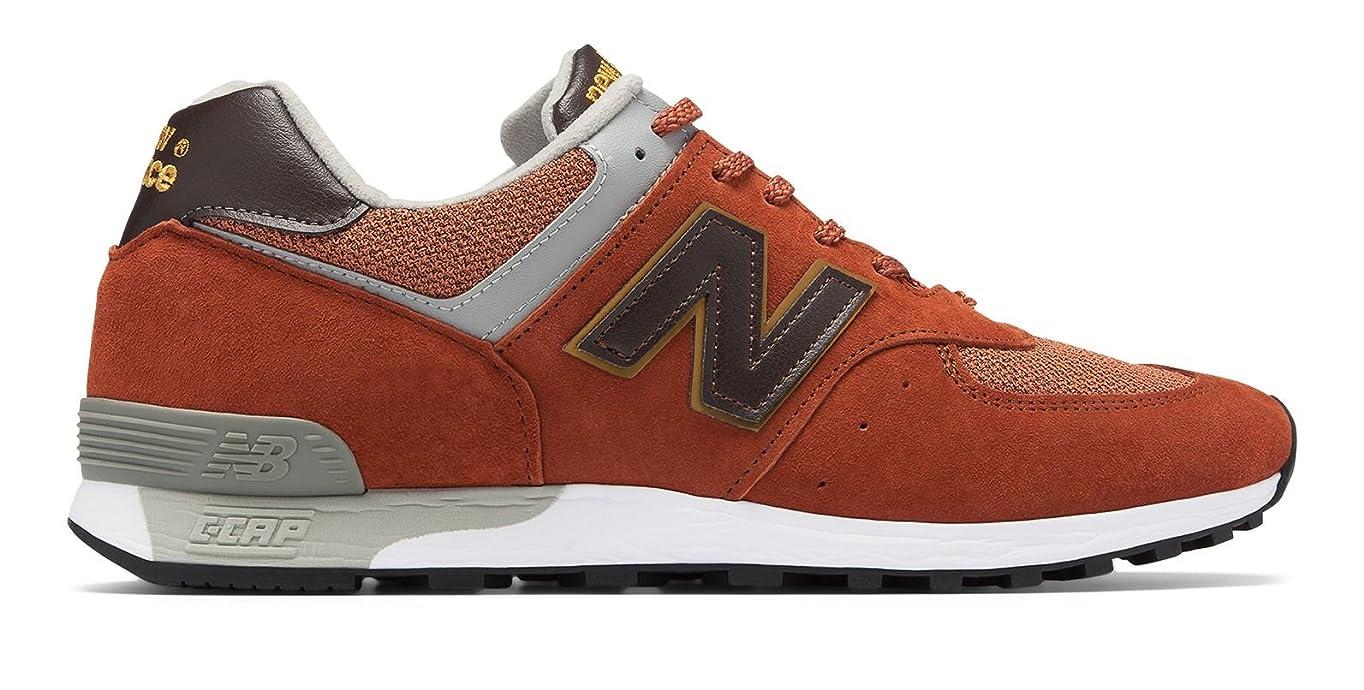 実際の繊毛測定(ニューバランス) New Balance 靴?シューズ レディースライフスタイル 576 Made in UK Brick with Grey ブリック グレー US 7 (24cm)