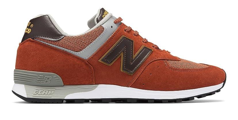 排除する上回る涙(ニューバランス) New Balance 靴?シューズ レディースライフスタイル 576 Made in UK Brick with Grey ブリック グレー US 8 (25cm)