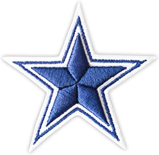 3D Dallas Cowboys Star Embroidered Iron On Patch