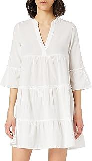 VERO MODA kvinnor Vmheli 3/4 Short Dress Wvn Ga Noos Ledig klänning