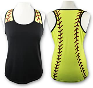 86dd97953c867 KnitPopShop Baseball Tank Top for Mom Fans T Shirt Apparel Tshirt Gifts Team
