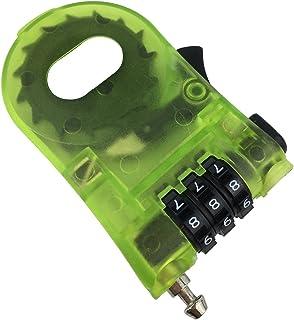 盗難防止 巻き取り式セキュリティワイヤーケーブル 110cm/ 携帯 に 便利 な ダイヤル ナンバー 式 /海外 旅行 やスノーボード(スノボ)やスキーなど ゲレンデ の 防犯ロック(1 pack-110CM)