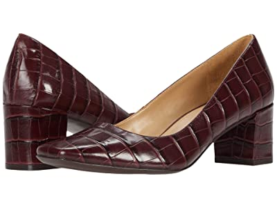 Naturalizer Karina (Cab Sav Croco Print Leather) Women