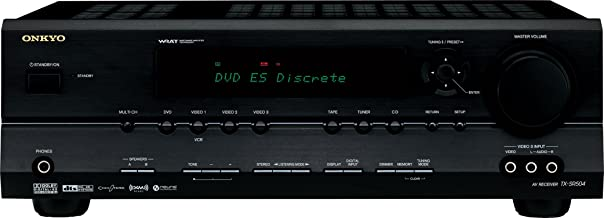 Onkyo TX-SR504 7.1 Channel A/V Receiver (Black) (Discontinued by Manufacturer)