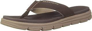 Skechers Men's Wind Swell-Butterlake Brown Slippers-12 UK (47.5 EU) (13 US) (51741-BRN)
