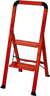 Ascent ADS2-001-RD Series Aluminum 2 Designer Step Stool, Red