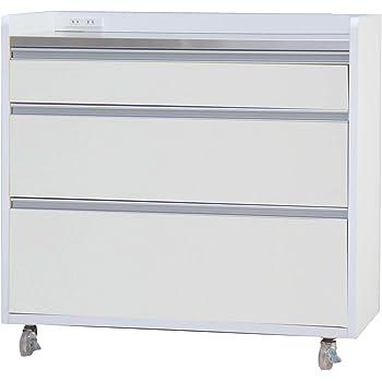 大川家具 GART カウンター パレス 90cm幅 ホワイト