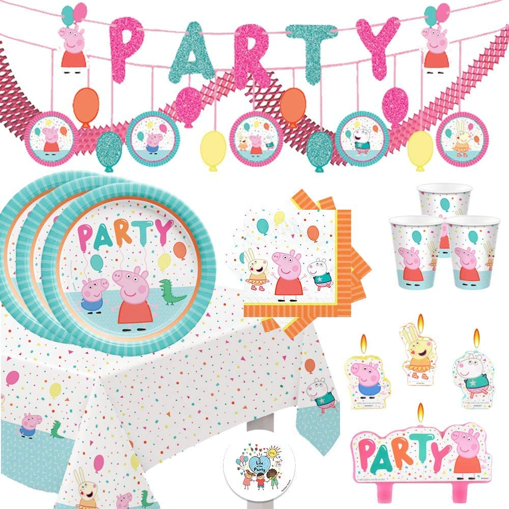 Peppa Pig Birthday Party Supplies With Pack Ranking TOP15 and Plat Sales Decorations