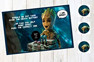 SGG Help Groot Push The Right Button Party Game