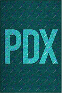 Gotham City Online Portland International PDX Airport Carpet Cool Wall Decor Art Print Poster 12x18