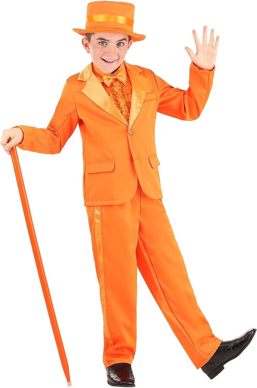 Sale item Orange Tuxedo Virginia Beach Mall Costume for Child Outfit Kids