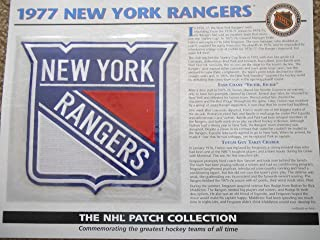 1977 New York Rangers Patch NHL Hockey Willabee & Ward Official Jersey Patch