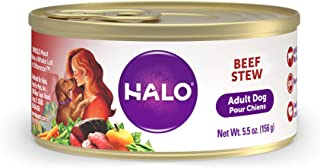Halo Natural Wet Dog Food, Beef Recipe
